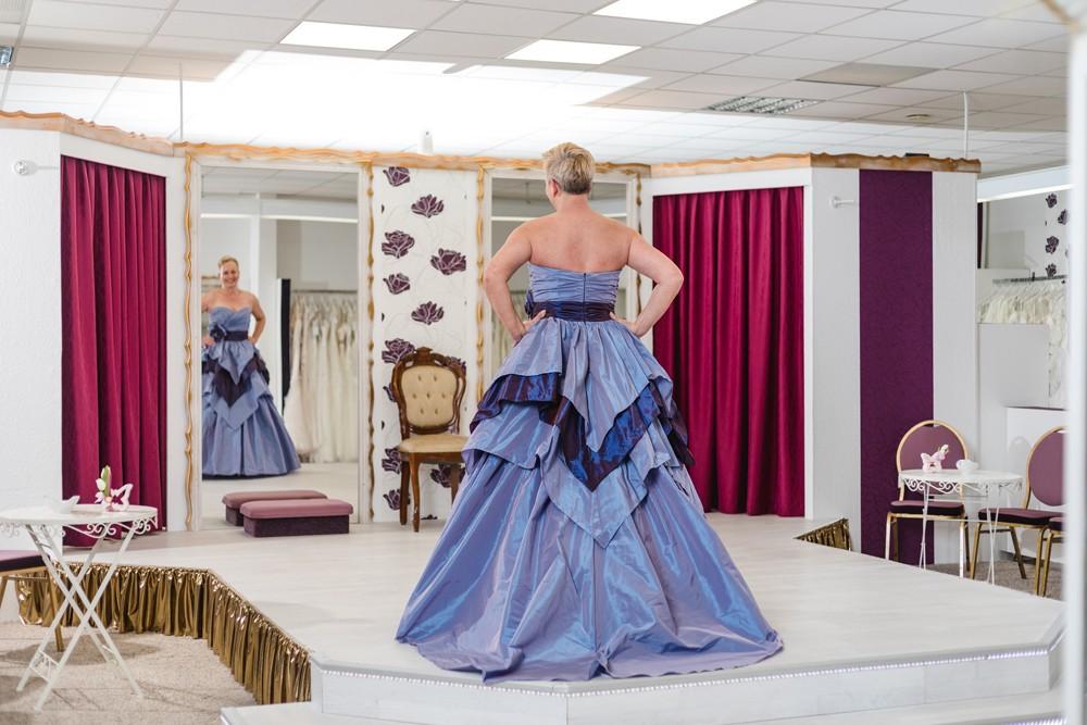 Schützenköniginnenkleid Schützenfest Hamm Festkleid Blau
