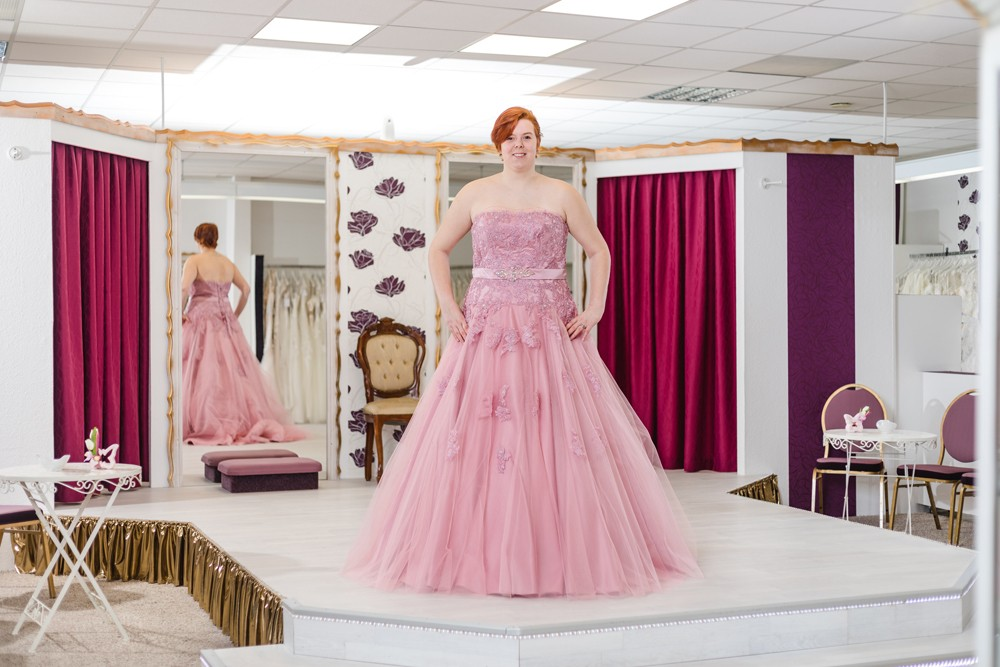 Schützenköniginnenkleid Schützenfest Hamm Festkleid Rosa